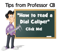 How to read a dial caliper