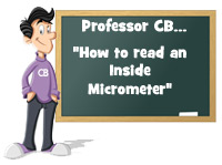 How to read an inside micrometer